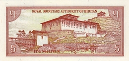 BHUTAN P. 14b 5 N 1985 UNC - Bhután