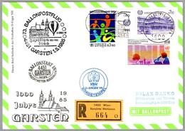 73 BALLONPOSTFLUG - CORREO VOLADO EN GLOBO. Wien 1985 - Correo Postal