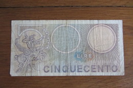 Italie 500 Lires - Unclassified