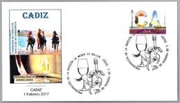 12 Meses - 12 Sellos - VINO DE JEREZ - JEREZ WINE - CARRERAS DE CABALLOS - HORSE RACES. Cadiz, Andalucia, 2017 - Vinos Y Alcoholes