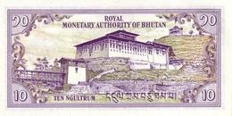 BHUTAN P. 15a 10 N 1994 UNC - Bhoutan