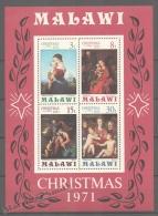 Malawi 1971 Yvert BF 25, Christmas - Miniature Sheet - MNH - Malawi (1964-...)