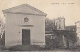 CPA - Montendre - Le Temple Et Le Château - Montendre