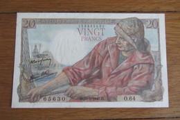 France 20 F - 1871-1952 Anciens Francs Circulés Au XXème