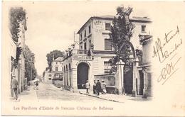 CP - Hotel Restaurant De La Tete Noire - Ancien Chateau De Bellevue - Hotels & Restaurants