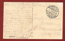 Zichtkaart Namen Met Veldpoststempel 1/7/1915;  2 Scan - WW I