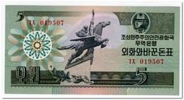 NORTH KOREA,5 WON,1988,P.28,UNC - Corée Du Nord