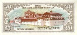 BHUTAN P. 16b 20 N 1994 UNC - Bhoutan