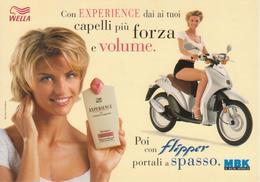 WELLA EXPERIENCE E Scooter MBK - Martina Colombari - Publicité