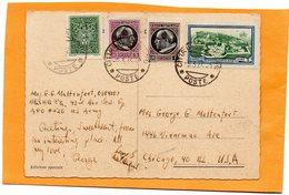 Vatican 1945 Postcard Mailed - Vatikan