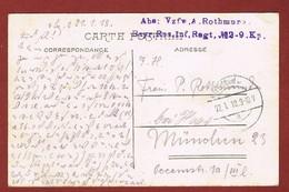 Zichtkaart Antwerpen Met Veldpoststempel 22/7/1918;  2 Scan - WW I
