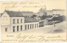 ROCHEFORT (Belgique) Vue De La Gare De Chemin De Fer - Rochefort