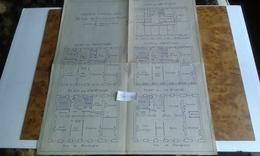 VP13.020 - Grand Plan 40 X 47 De L'Immeuble Du 53 Rue De Bourgogne à PARIS - LOUTELIER Architectes à MAISONS - LAFFITTE - Architecture