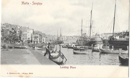 SENGLEA (Malte) Port Bateaux - Malta