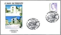 6 AÑOS DEL TERREMOTO - 6 YEARS OF EARTHQUAKE. L'Aquila 2015 - Geología