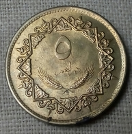 Libya - 5 Dirham - 1979 - KM# 19 - UNC - Agouz - Libya