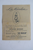Partition La Madelon Publicitaire - Partitions Musicales Anciennes