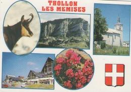 Cpm 74 Thollon Les Memeises - Cachet Et Flamme D évian - 1993 - Thollon