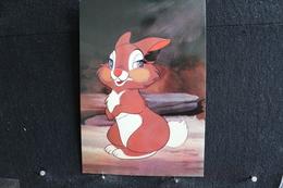 T-D, N°18 / Carte Postal Humoristique-Walt Disney Productions  - (Personnages- Banbi ), Le Lapin - Disney