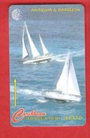 ANTIQUA & BARBUDA  Magnetic GPT Phonecard - Antigua And Barbuda