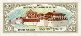 BHUTAN P. 23 20 N 2000 UNC - Bhutan