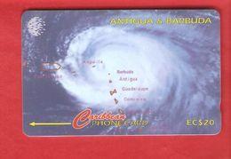 ANTIQUA & BARBUDA  Magnetic GPT Phonecard 54CATF - Antigua And Barbuda