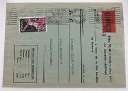 España 1186 - 1961-70 Storia Postale
