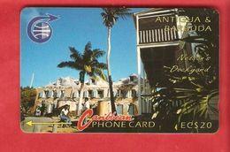 ANTIQUA & BARBUDA  Magnetic GPT Phonecard 6CATB - Antigua And Barbuda