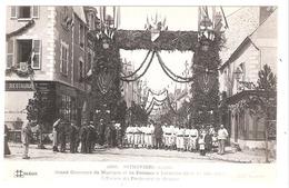 Pithiviers (45 - Loiret)  Grand Concours De Musique Et De Pompes à Incendie - 1913 - Thème Pompiers - Pithiviers