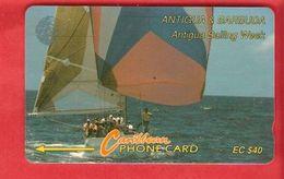 ANTIQUA & BARBUDA  Magnetic GPT Phonecard 7CATC - Antigua And Barbuda