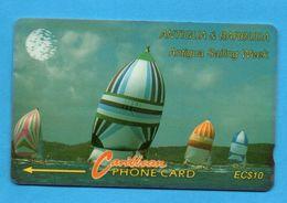 ANTIQUA & BARBUDA  Magnetic GPT Phonecard 13CATA - Antigua And Barbuda