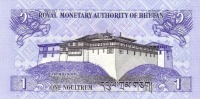 BHUTAN P. 27a 1 N 2006 UNC (2 Billets) - Bhoutan