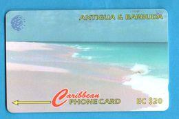 ANTIQUA & BARBUDA  Magnetic GPT Phonecard 17CATC - Antigua And Barbuda