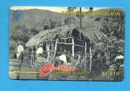 ANTIQUA & BARBUDA  Magnetic GPT Phonecard 54CATA - Antigua And Barbuda