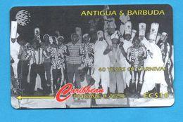 ANTIQUA & BARBUDA  Magnetic GPT Phonecard 181CATA - Antigua And Barbuda