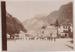 CLUSES Centre Ville? En 1905 (18cmX13cm) 207J - Luoghi