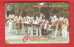 ANTIQUA & BARBUDA  Magnetic GPT Phonecard 123CATB - Antigua And Barbuda