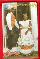 ANTIQUA & BARBUDA  Magnetic GPT Phonecard 97CATA - Antigua And Barbuda