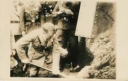 Erster Spotenstich Zur Reichsautobahn Carte Photo Datée De 1924 - Germania