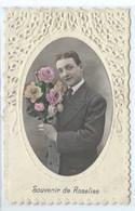 """Un Bonjour De Roselies ( Papier Collant Au Dos - Carte """" Croquée """" INVISIBLE Sue Le Scan ) - Farciennes"""