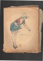 Doux érotisme: Cahier De Chansons Et Textes De Nuits De Noce D'une Jeune Femme Sortant D'un Couvent. Illustré D'une Soix - Non Classificati