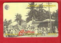 ANTIQUA & BARBUDA  Magnetic GPT Phonecard 54CATB - Antigua And Barbuda