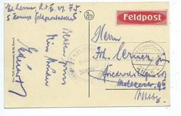 """Ieper De Statie ( Feldpost ) Briefpost  """" Briefmarken """" - Ieper"""
