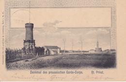 57 - St  Privat Denkmal 1903 CACHET De Gravelotte  Carte Allemande - Otros Municipios