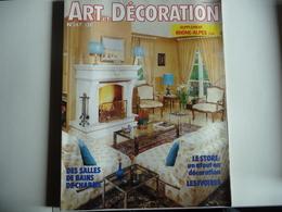 ART & DECORATION No 247 De Mars 1984 - Nombreuses Idées De Décoration. - House & Decoration