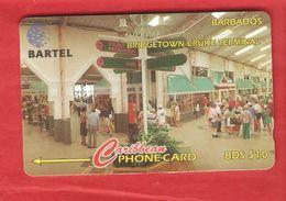 BARBADOS Magnetic GPT Phonecard 58CBDB - Barbados