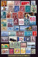 (12) Alle Welt Konvolut/Lot Marken Gestempelt O (PDXLO-1-26) - Timbres