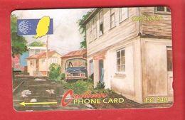 GRENADA Magnetic GPT Phonecard 5CGRC - Grenada