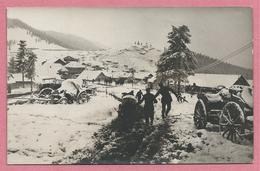 Romania - Carte Photo - Foto - PRISLOP PASS - Deutsche Soldaten - Guerre 14/18 - Winter - Schnee - Hiver - Neige - Rumänien