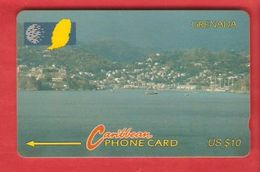 GRENADA Magnetic GPT Phonecard 10CGRE - Grenada